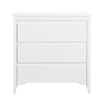 Dorel Living Dorel Home Furnishings Aaden Two-Toned 3 Drawer Dresser