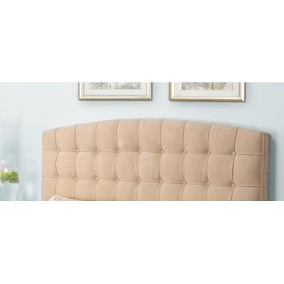 Upholstered Panel Headboard Upholstery: Beige