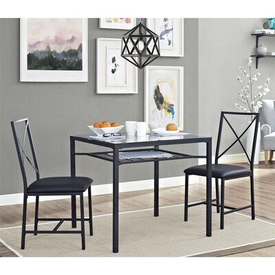 Lulu 3 Piece Dining Set