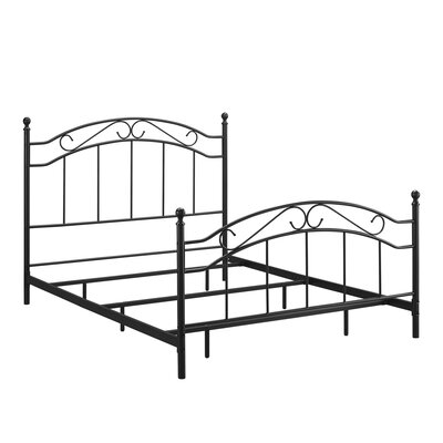 Barrett Metal Queen Panel Bed