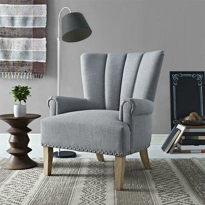 Bursten Armchair Upholstery: Gray