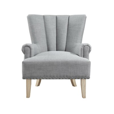Bursten Accent Armchair Color: Gray