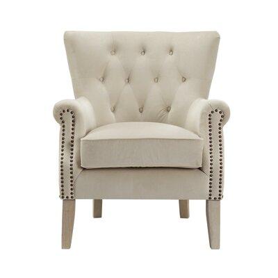 Roseanna Accent Armchair Color: Beige