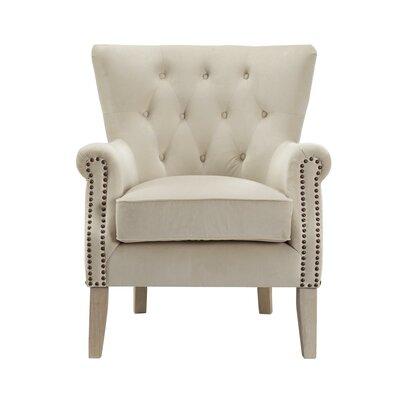 Roseanna Accent Armchair Upholstery: Beige