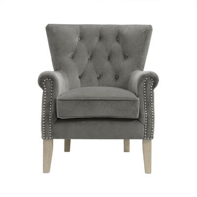 Roseanna Accent Armchair Color: Gray