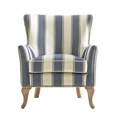 Zubair Armchair Upholstery: Blue