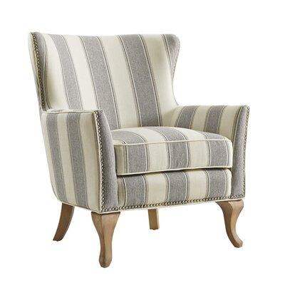 Zubair Armchair Upholstery: Gray