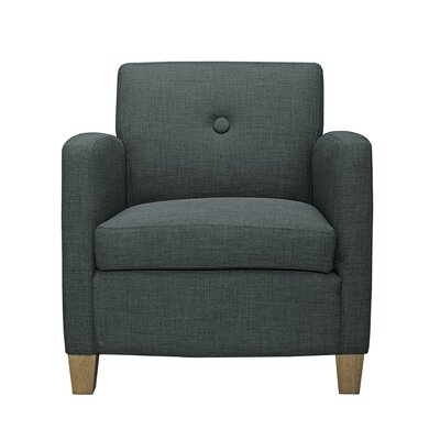 Vanwagenen Armchair Upholstery: Charcoal