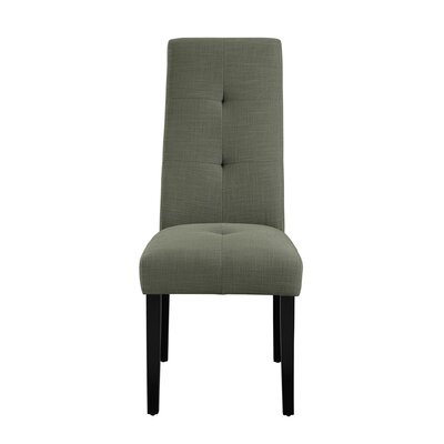 Lakeside Upholstered Dining Chair Upholstery: Gray