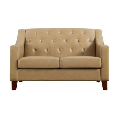 Birmingham Tufted Back Track Arm Loveseat