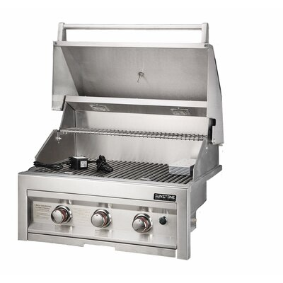 "Sunstone Grills 28"" Gas Grill with 3 Burners - Fuel Type: Propane at Sears.com"