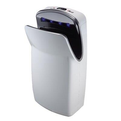 World Dryer Vmax, Hi-speed Vertical Hand Dryer in White