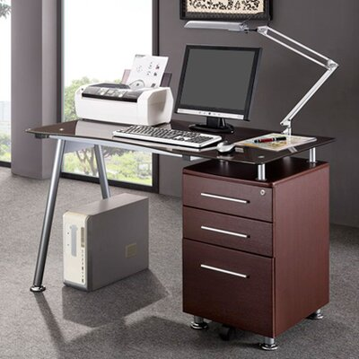 Sherrill Writing Desk with Side Cabinet Product Photo 32