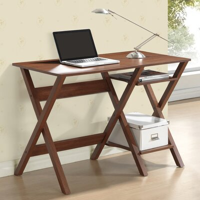 Techni Mobili Computer Desk with Side Shelves