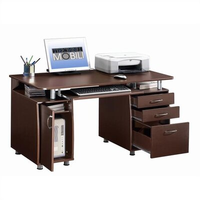 Techni Mobili Super Storage Computer Desk at Sears.com
