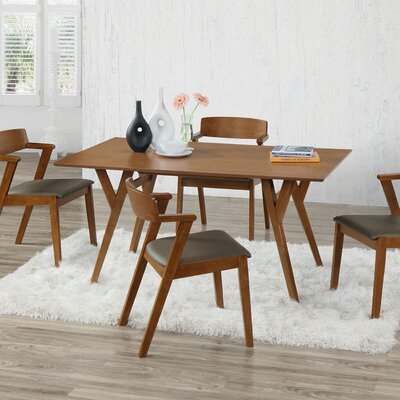 Buckleton Wood 5 Piece Dining Set