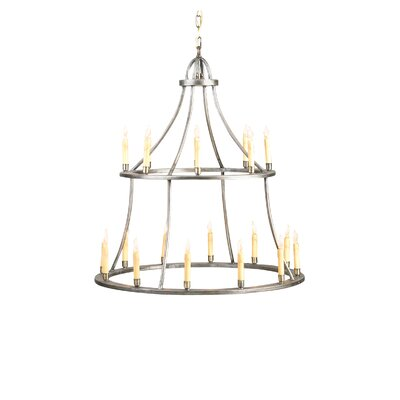 Galilee 20-Light Candle-Style Chandelier
