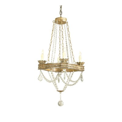 Lambeth 4-Light Candle-Style Chandelier