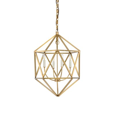 Barley 4-Light Foyer Pendant