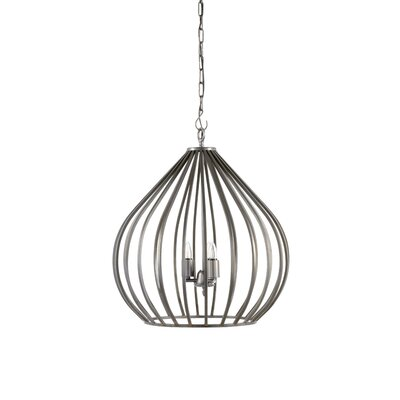 Camille 3-Light Foyer Pendant