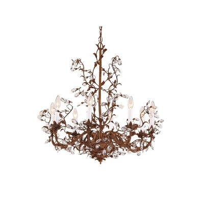 Little 8-Light Candle-Style Chandelier