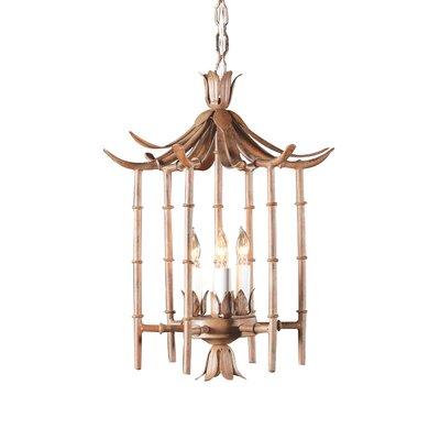 3-Light Foyer/Lantern Pendant
