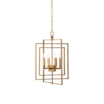 Cube 4-Light Mini Chandelier
