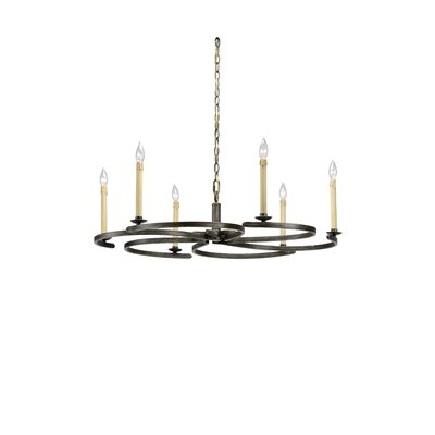 Cristian 6-Light Candle-Style Chandelier