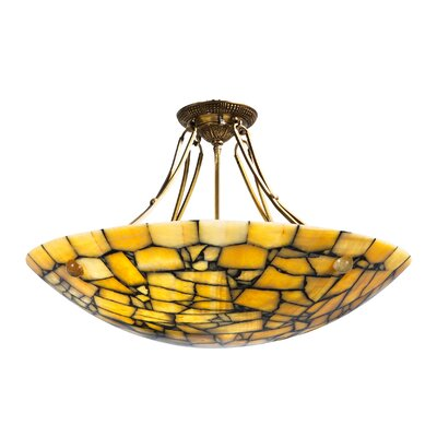 Parlor Bowl 8-Light Pendant