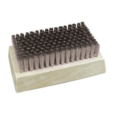 Stainless Steel Fine Filament Block Brush (Set of 2)