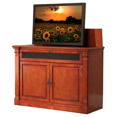 Adonzo 59 TV Stand Color: Cherry Finish
