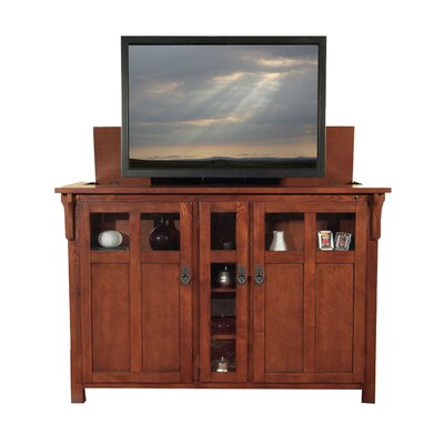 Bungalow 61.5 TV Stand Color: Mission Chestnut
