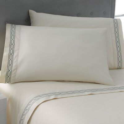 Signature Matelasse Sham Size: Standard, Color: Abyss