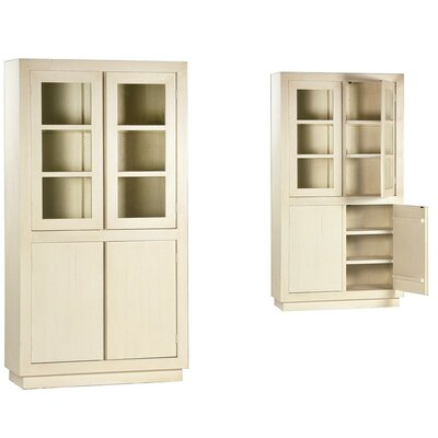 Miranda China Cabinet Color: White