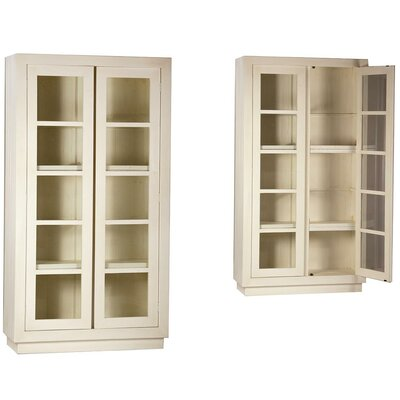 Glantz Curio Cabinet Color: White