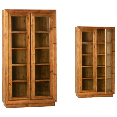 Glantz Curio Cabinet Color: Pine