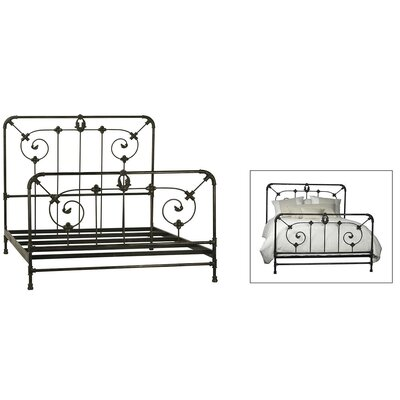 Rackley Iron Panel Bed Size: Eastern King