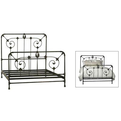Rackley Iron Panel Bed Size: Queen