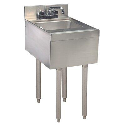 12 x 21 Single Hand Sink, Underbar
