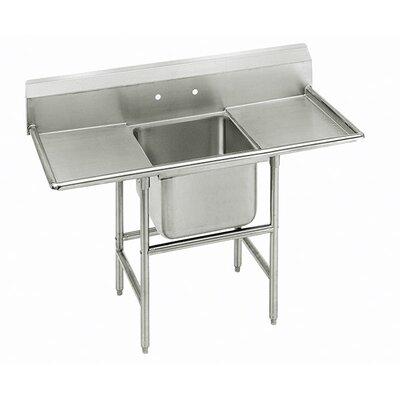 900 Series Single Seamless Bowl Scullery Sink Width: 58