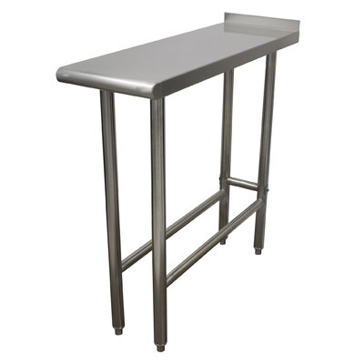 Equipment Filler Prep Table Size: 37 H x 24 W x 12 D