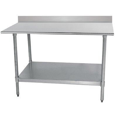 Economy Prep Table Size: 40.5 H x 60 W x 30 D