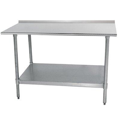 Economy Prep Table Size: 35.5 H x 84 W x 24 D