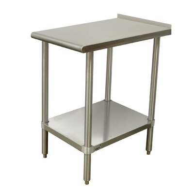 Equipment Filler Prep Table Size: 37 H x 30 W x 15 D