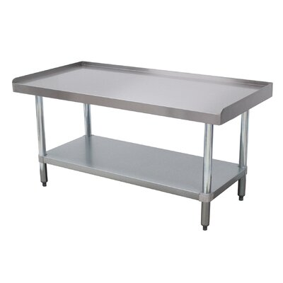 Economy Equipment Prep Table Size: 25 H x 72.25 W x 24 D