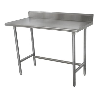 Heavy Duty Prep Table Size: 40.5 H x 84 W x 24 D