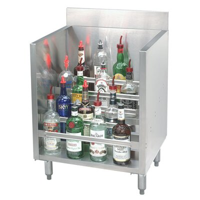 Silver 30 Liquor 35 Bottle Floor Wine Bottle Rack