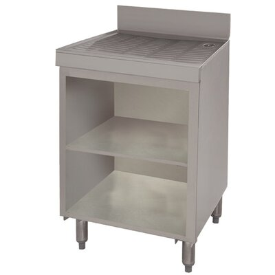 Free Standing Drainboard Cabinet Size: 33 H x 36 L x 21 W