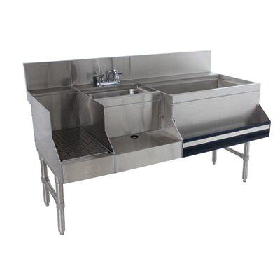Prestige Series Uniserv Speed Bar 60 x 30 Free Standing Service Utility Sink