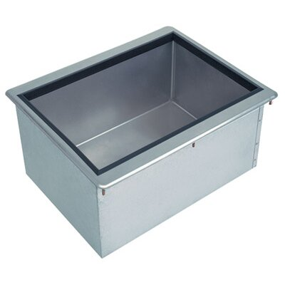 10 Deep Insulated Free Standing Drop-In Ice Bin Size: 14 H x 12 L x 18 W
